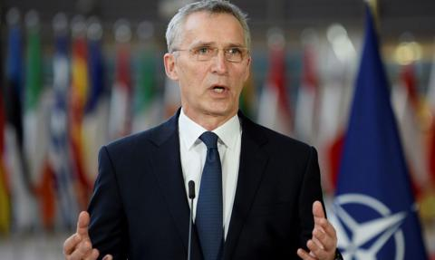 Szef NATO: Rosja musi zakończyć militarną rozbudowę sił na Ukrainie i wokół niej