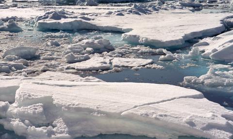 Antarktyda: od lodowca oderwała się góra lodowa wielkości Londynu