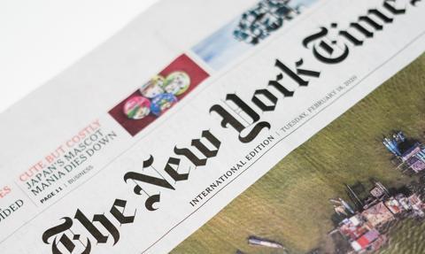 """""""NYT"""" przeniesie część pracowników z biura w Hongkongu do Seulu"""