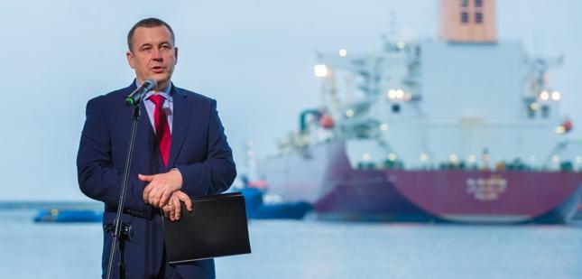 Prezes PGE Henryk Baranowski