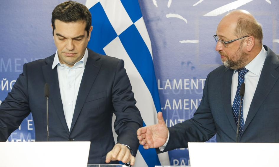 Szef PE: możemy znaleźć środki na pomoc dla Grecji, by uniknąć chaosu