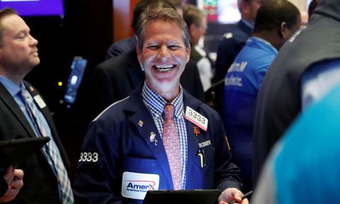 Wzrosty na Wall Street. Liderami zwyżek największe firmy technologiczne