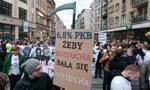 W Poznaniu i we Wrocławiu demonstracje poparcia dla protestu rezydentów