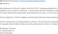 Takie wezwanie z Ministerstwa Finansów to oszustwo