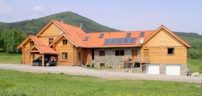 Budowa domu: dom z bala. Zalety i wady