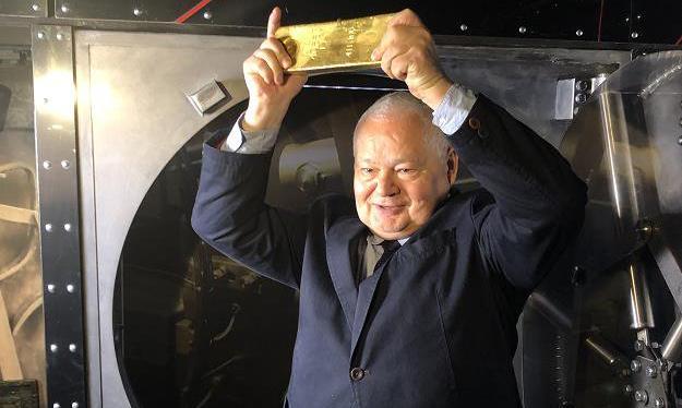 Glapiński: Chcemy dokupić co najmniej 100 ton złota