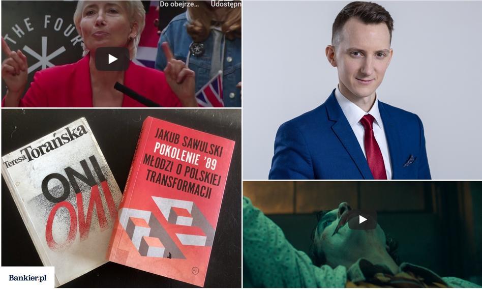Czytam, oglądam, polecam. Andrzej Kubisiak, zastępca dyrektora w Polskim Instytucie Ekonomicznym