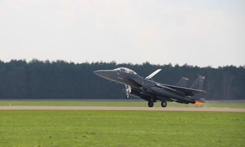 Do Polski przyleciało kilkadziesiąt amerykańskich samolotów bojowych