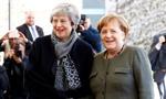 Merkel spotkała się z May w Berlinie