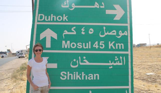 Agnieszka Samolej mieszka w Kurdystanie