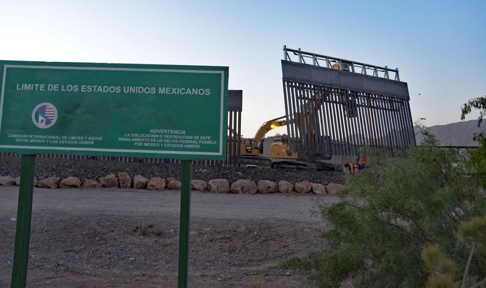 Władze Teksasu zaaprobowały zaliczkę na budowę muru na granicy z Meksykiem