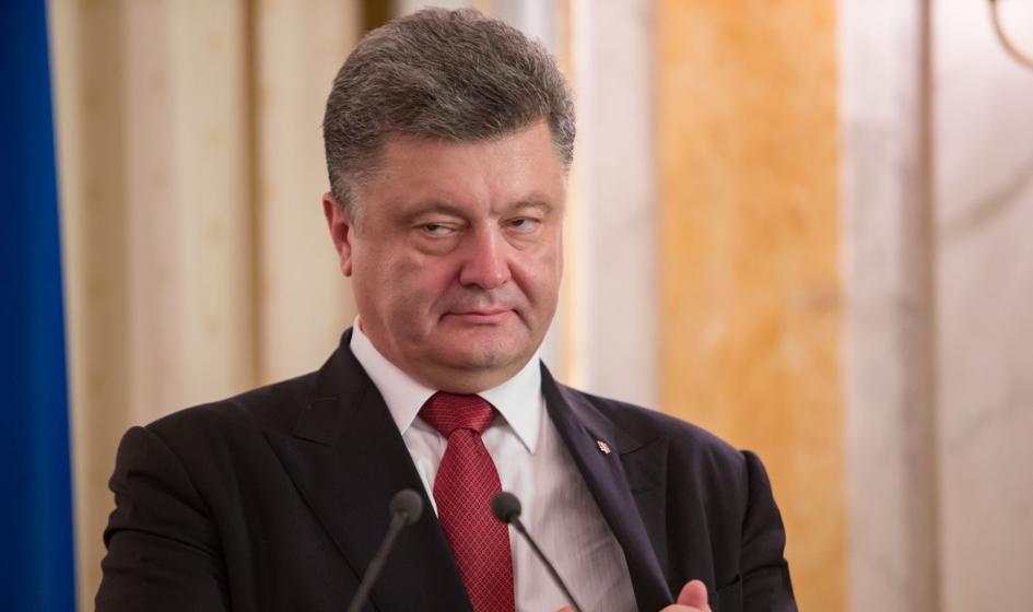 Prezydent Ukrainy: Nasza flaga zawiśnie nad Krymem i Donbasem