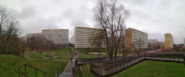 ... Nagły popyt na mieszkania sprawił jednak, że w mieście zaroiło się od bloków. Naprawdę, centrum miasta to jedno wielkie blokowisko składające się z ogromnych molochów. Robi to naprawdę depresyjne wrażenie
