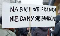 Frankowicze protestowali przed Pałacem Prezydenckim