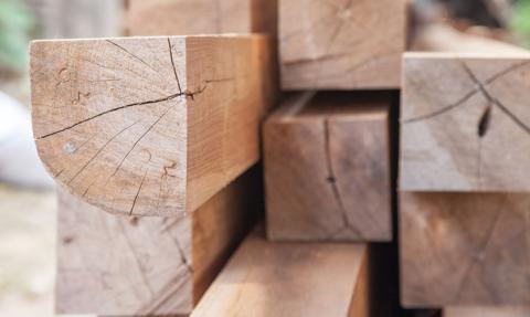 Drewniana hossa w Ameryce