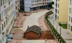 Domu nie sprzedam! Chiński bunt przeciw nowym osiedlom [zdjęcia]