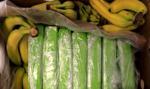 Kokaina w bananach w Carrefourze. Policja przeszukuje sklepy
