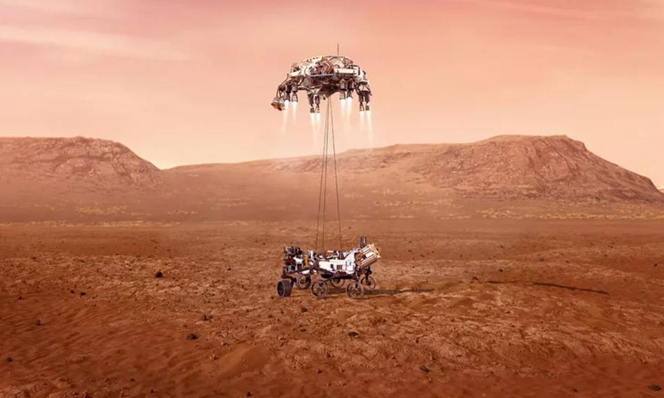 NASA opublikowała pierwsze wideo i audio z lądowania na Marsie