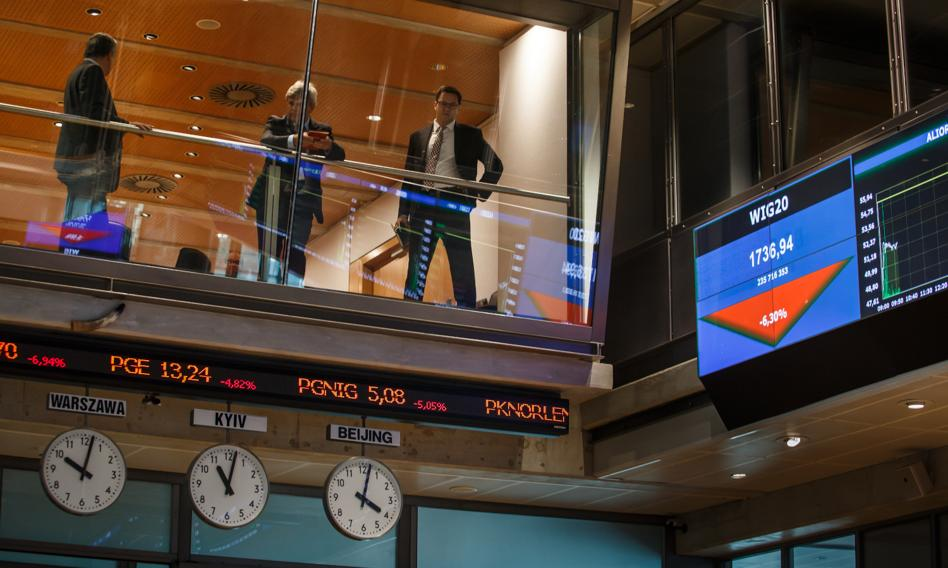 Bankowa kontra na GPW. WIG spadł ze szczytu