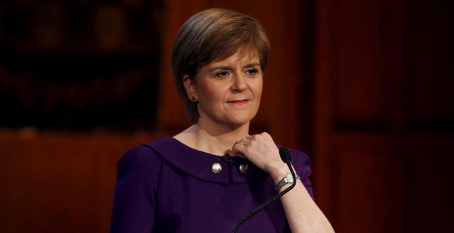 Szefowa rządu Szkocji Nicola Sturgeon