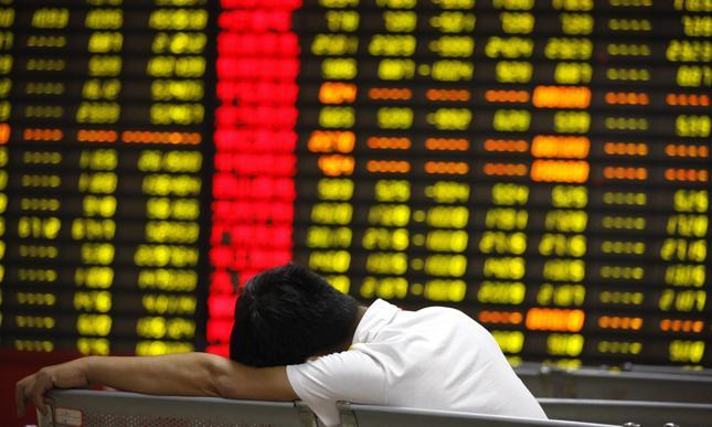 Azjatyckie giełdy mocno w dół po czerwonej Wall Street