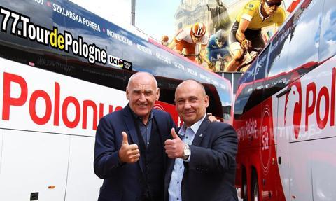 Polonus oficjalnym przewoźnikiem Tour de Pologne