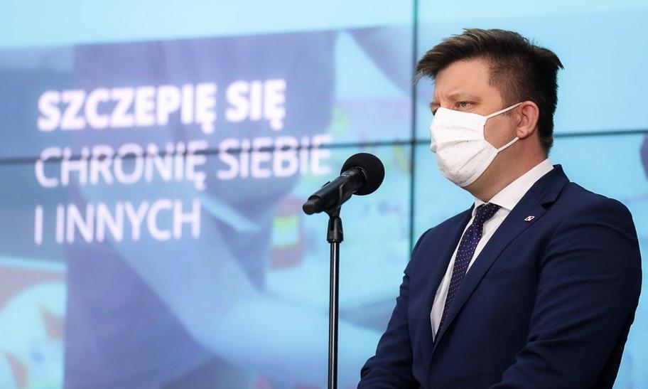 W przyszłym tygodniu do Polski dotrze o 1,1 mln mniej szczepionek