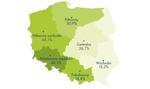 Historyczny podział na Polskę A i B widoczny na rynku pracy