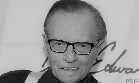 Zmarł gwiazdor telewizji Larry King