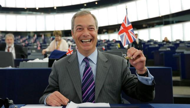 Lider brytyjskich eurosceptyków Nigel Farage