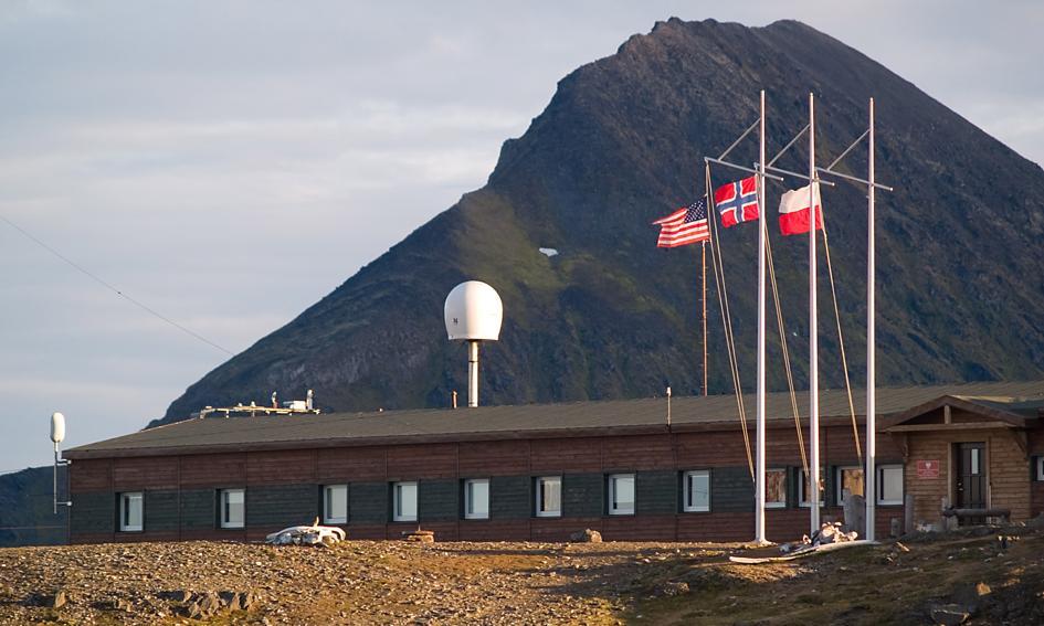 Rekord temperatury na Spitsbergenie