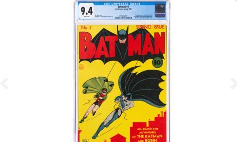 Komiks o Batmanie sprzedany za rekordową sumę 2,2 mln dolarów