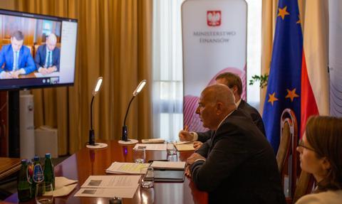 MF: Polska i Ukraina zacieśniają współpracę w walce z oszustami podatkowymi i celnymi