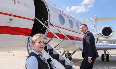 Posłowie KO chcą skontrolować jeden z lotów prezydenta Dudy