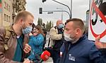 Protest rolników w Warszawie. Odpalono race i petardy