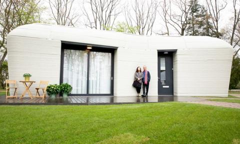 Pierwszy w Europie całkowicie wydrukowany dom. Czeka nas nowy trend w budownictwie?