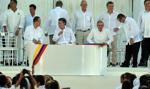 Kolumbia: rząd podpisał układ pokojowy z FARC