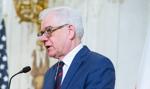 Czaputowicz: Konsekwentnie przeciwstawiamy się realizacji projektu Nord Stream 2