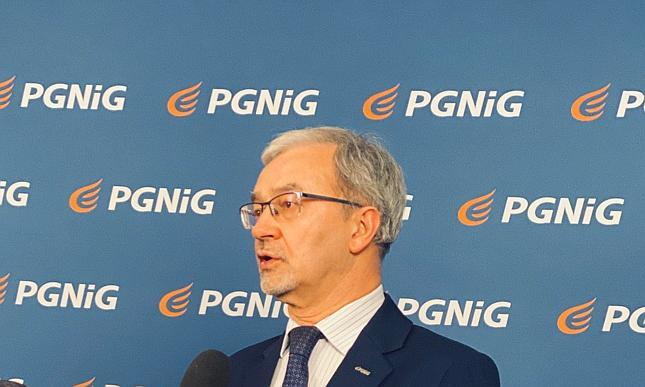 Jerzy Kwieciński, prezes PGNiG SA.