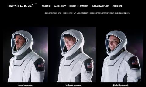Astronauci-amatorzy polecieli w kosmos. Misja Inspiration 4 dotarła na orbitę okołoziemską