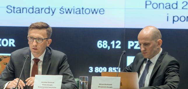 Jarosław Dominiak (z lewej) i Michał Masłowski