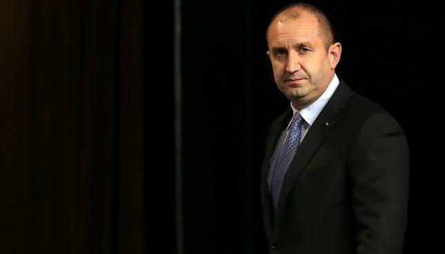 Prezydent Bułgarii Rumen Radew