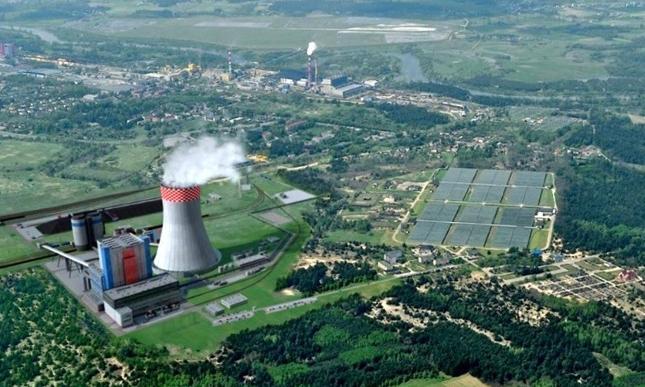 Wizualizacja bloku energetycznego Ostrołęka C