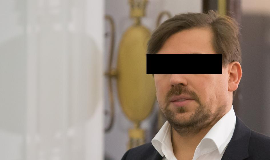 Były agent CBA Tomasz K. z zarzutem m.in. składania fałszywych zeznań