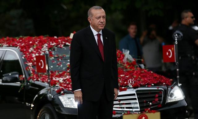 Prezydent Erdogan ponownie zaprzysiężony na szefa państwa