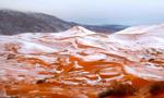 Śnieg na Saharze – po raz pierwszy od 37 lat
