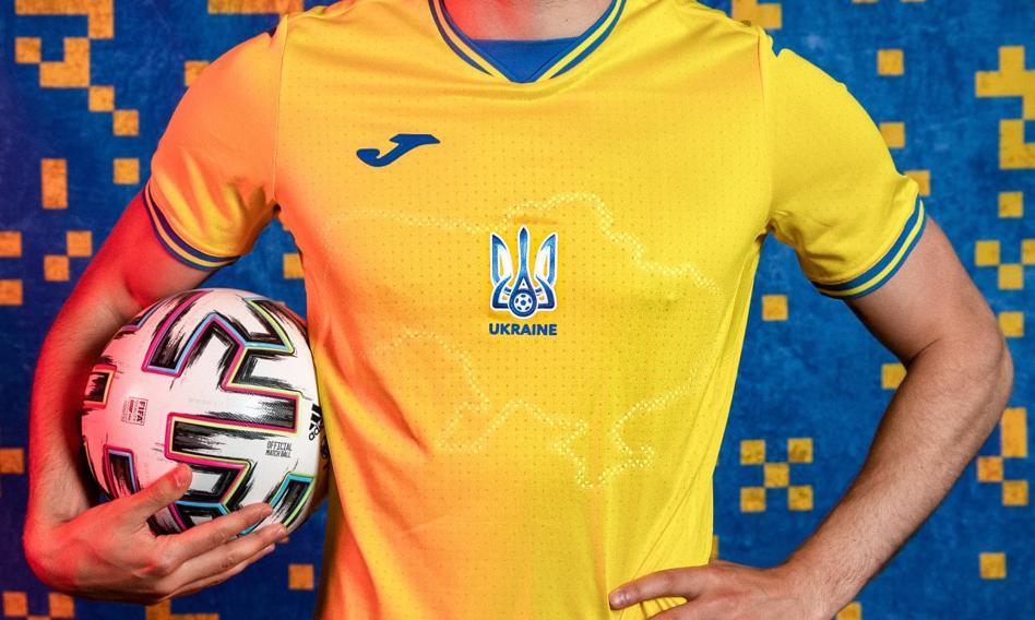 Euro 2020. Strój reprezentacji Ukrainy zbulwersował Rosję. Poszło o Krym