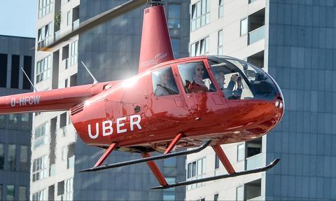 Uber rezygnuje z latających taksówek