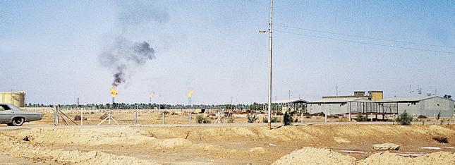 Pola naftowe w Kuwejcie