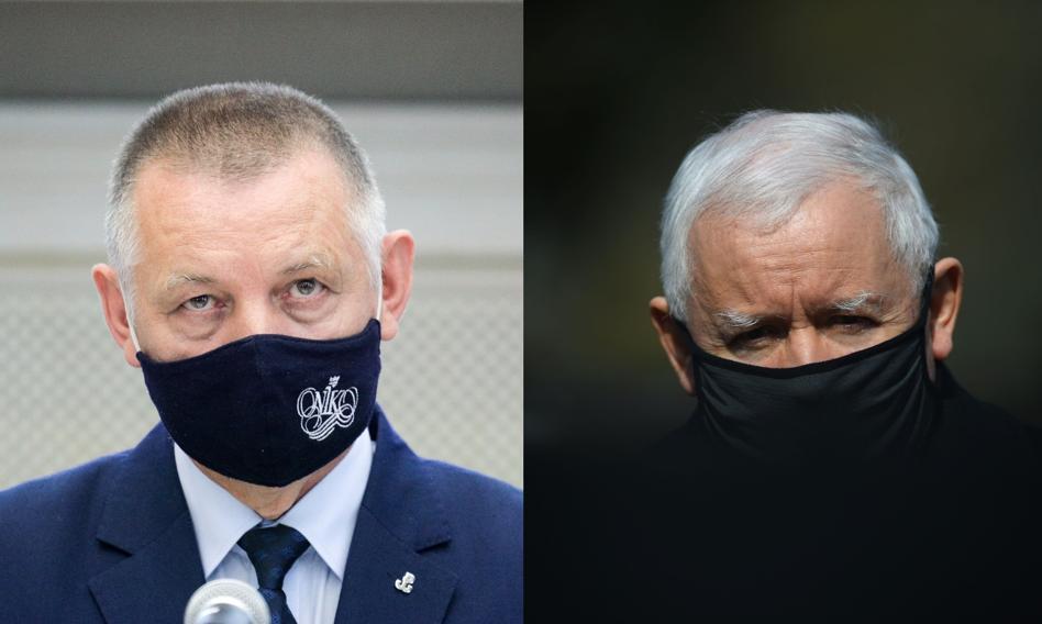 Szef NIK kieruje do prokuratury zawiadomienie w sprawie Jarosława Kaczyńskiego